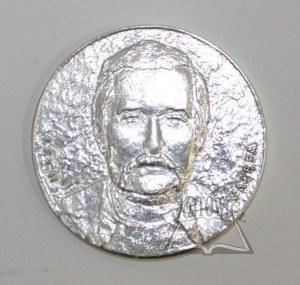 (SOLIDARNOŚĆ - Lech Wałęsa). Medal pamiątkowy.