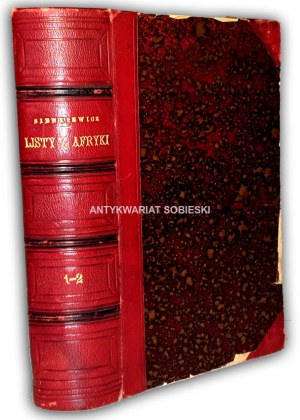 SIENKIEWICZ- LISTY Z AFRYKI 1-2 wyd. 1893