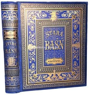 KRASZEWSKI- STARA BAŚŃ wyd.1879r.il. Andriolli OPRAWA WYDAWNICZA Folio