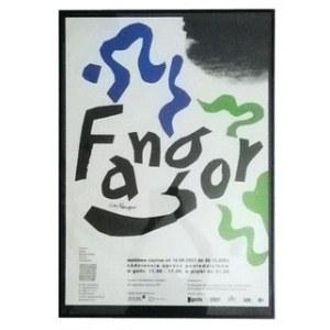 Wojciech Fangor. Retrospektywa 2003. [Plakat / Autograf]
