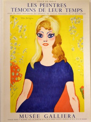 Kees van Dongen [1877-1968 r.] Les Peintres Temoins de Leur Temps