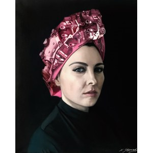 Kamila Stępniak, Girl with a pink toque