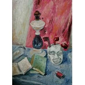 Jan Piotr Hrynkowski (1891 - 1971), Martwa natura z maską