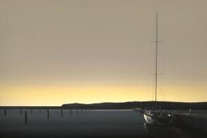 Tomasz Kołodziejczyk (ur. 1976), Port w blasku słońca, 2020