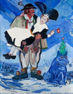 Edward Dwurnik, Szwajcarska narzeczona