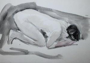 Wojciech Weiss (1875-1950), Akt kobiety, 1912