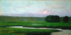 Stefan Popowski (1870 - 1937), Pejzaż