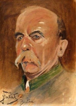 Julian Fałat (1853-1929), Portret leśniczego Ferdynanda Grzyba, 1923 r.