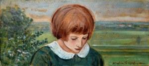 Wlastimil Hofman (1881-1970), Dziewczyna