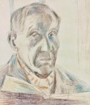 Stanisław KAMOCKI (1875-1944), Autoportret z książką