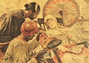 Julian FAŁAT (1853-1929), Na statku, 1887