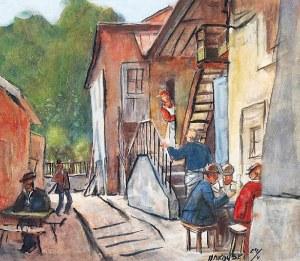 Tadeusz MAKOWSKI (1882-1932), Lato w małym miasteczku