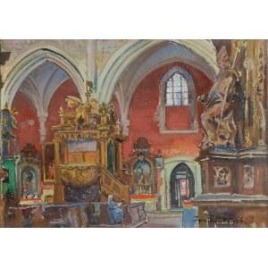 Ignacy PIEŃKOWSKI (1877-1948), Wnętrze kościoła