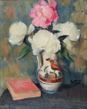 Wojciech WEISS (1875-1950), Kwiaty w wazonie
