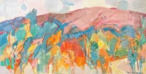 Jan ŚWIDERSKI (1913-2004), Różowa góra, 1993