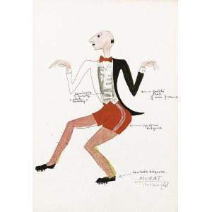 Marian BOGUSZ (1920-1980), Projekt kostiumu Murat do spektaklu Czupurek wg Benedykta Hertza, 1958