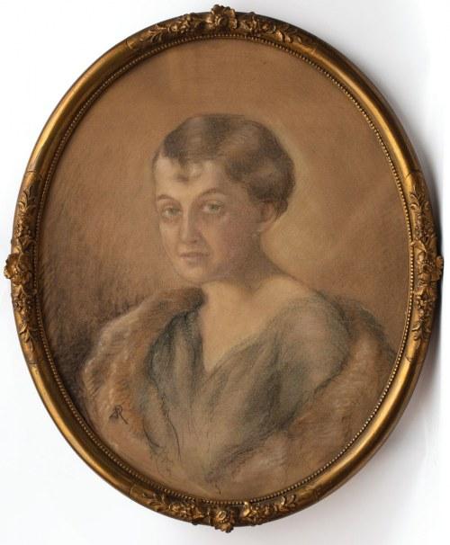 PORTRET KOBIETY, ok. 1920