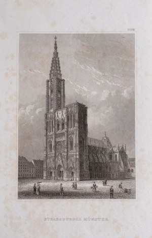 KATEDRA W STRASBURGU, ok. 1850