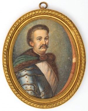 MINIATURA, KRÓL JAN III SOBIESKI, Polska, XIX / XX w.