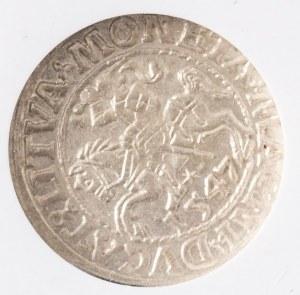 PÓŁGROSZ, Litwa, Wilno, Zygmunt II August, 1547