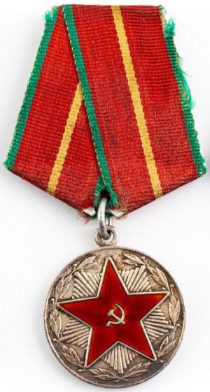 Medal, Za 20 Lat Nienagannej Służby w MSW ZSRR. I klasy, wz. 1966