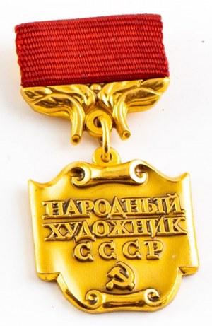 Odznaka, Narodowy Artysta ZSRR