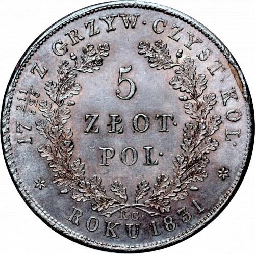 November uprising, 5 zloty 1831