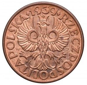 II Republic of Poland, 2 groschen 1939