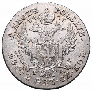 Kingdom of Poland, Alexander I, 2 zloty 1816