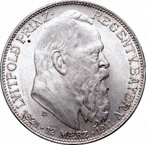 Niemcy, Bawaria, 2 marki 1911