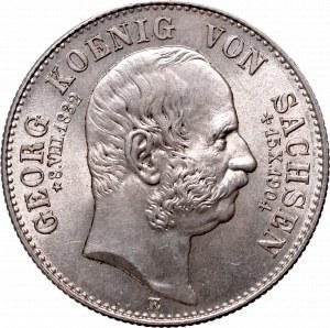 Niemcy, Saksonia, 2 marki 1904