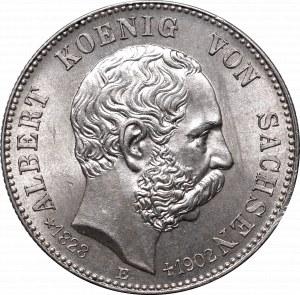Niemcy, Saksonia, 2 marki 1902