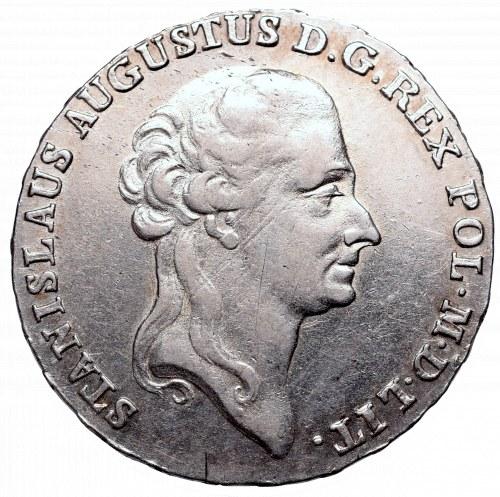Stanislaus Augustus, Half-thaler 1788