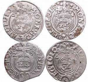 Zygmunt III Waza, Zestaw półtoraków 1625-1627