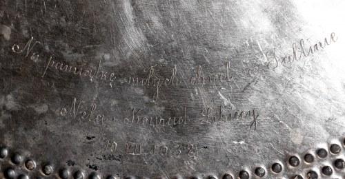 II RP, Patera na stopie - Dar od Konrada Libickiego posła II RP w Estonii
