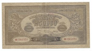 II RP, 250000 marek polskich 1923