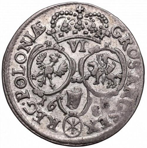 John III Sobieski, 6 groschen 1684, Bromberg SP