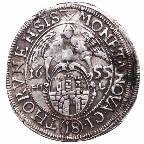John II Casimir, 18 groschen 1655, Thorn