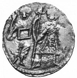 Bolesław III Krzywousty, Denar bez daty - książę i rycerz