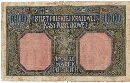 II RP, 1000 marek polskich 1916 Generał