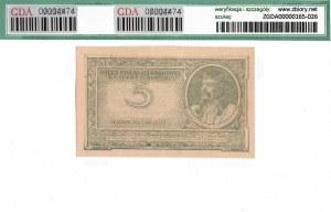 II RP, 5 marek polskich 1919 IH - GDA 58EPQ