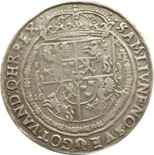 Władysław IV Waza, talar 1634, Bydgoszcz, Dostych R6!