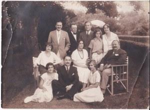 Przedwojenne zdjęcie portretowe Rodziny Radziwiłłów
