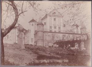 Przedwojenna fotografia: Zamek w Nieświeżu