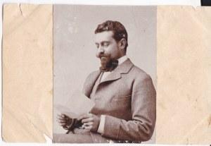 Przedwojenna fotografia: Jan Józef hrabia Tyszkiewicz z Waki Trockiej