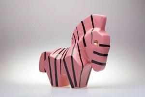 Jakub Niewdana, Zebra, z serii Safari, 2020
