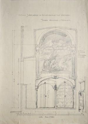 Józef Mehoffer (1869 - 1946), Projekt wystroju kaplicy Jana III Sobieskiego na Kahlenbergu, ok. 1910