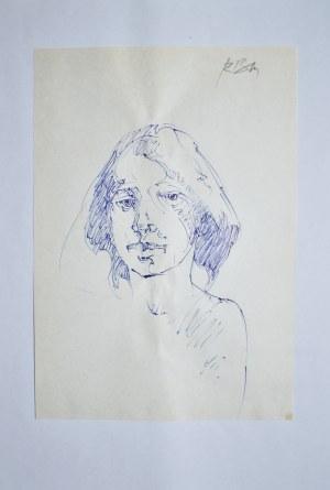 Roman Banaszewski (Ur. 1932), Szkic głowy kobiety
