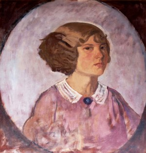 Stanisław Czajkowski (1878-1954), Portret dziewczyny