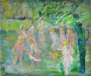 Henryk Krych (1905 - 1980), Kąpiące się